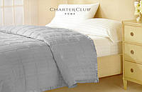 Одеяло - покрывало Charter Club серое 229х234см