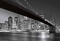 Фотообои Бруклинский мост Нью-Йорк 366*254