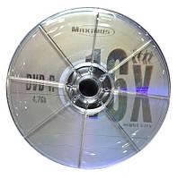 Диск MAXIMUS DVD-R 4.7Gb 16x Bulk 50шт.