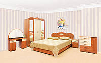 Спальня Лілея Світ Меблів / Спальный гарнитур Лилея 3Д Світ Меблів