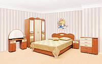 Спальня Лілея Світ Меблів / Спальний гарнітур Лілея 3Д Світ Меблів
