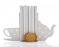Держатель для книг Чашка чая