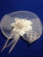 Шляпка на ободке Роза