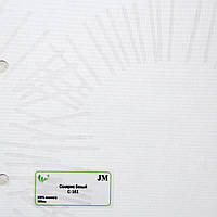 Рулонные шторы Одесса Ткань Солярис Белый