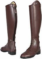 Обувь женская для конного спорта: сапоги, ботинки, краги, гольфы