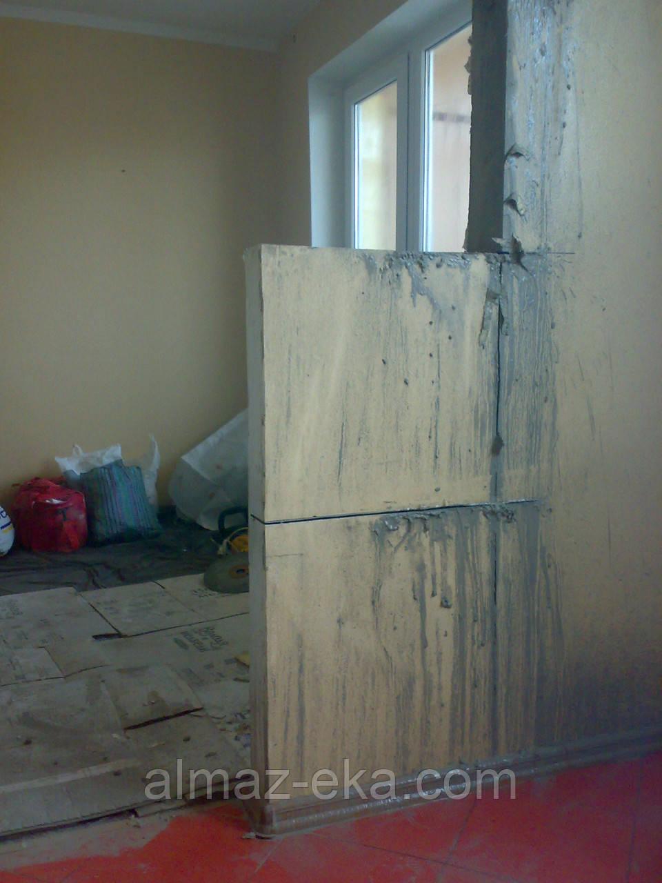 Расширение,резка проемов,стен,штроб,демонтаж в Харькове., фото 1