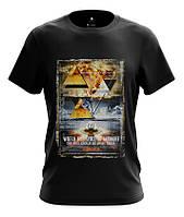Модная мужская футболка с изображением пирамиды