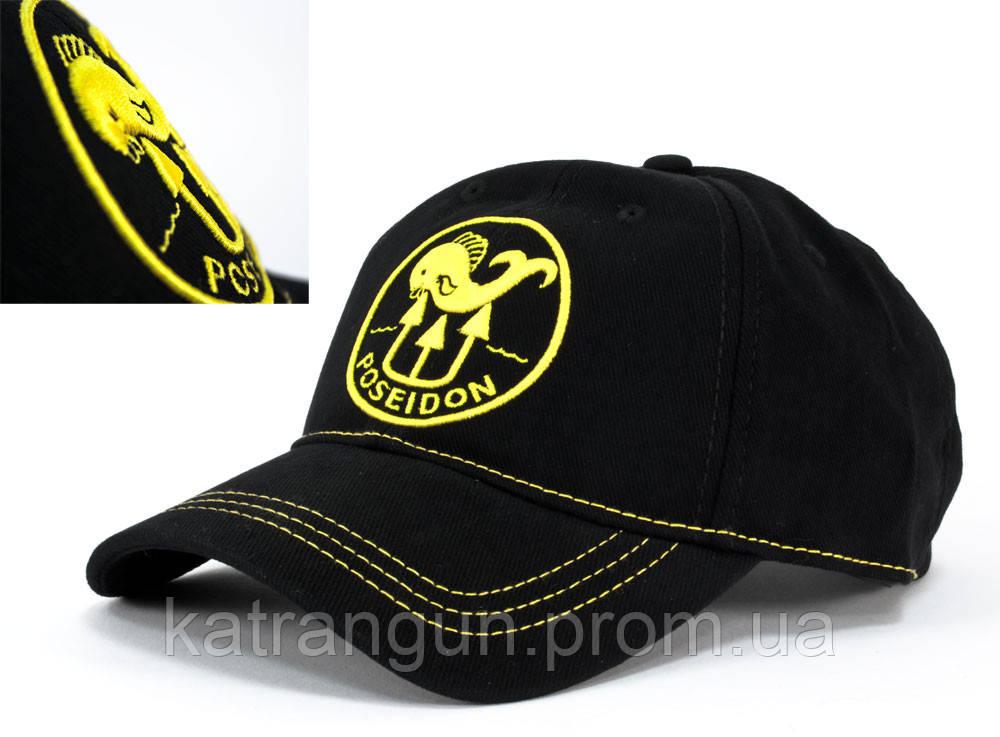 Фирменная кепка для дайвера Poseidon Yellow Lines - Магазин подводного снаряжения KatranGun — подводная охота, дайвинг, плавание, бассейн, обучение ПО в Киеве