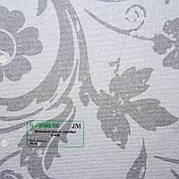 Рулонные шторы Одесса Ткань Валенсия-Аурис Серебро
