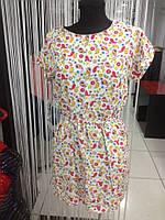 Платье женское турецкие огурцы