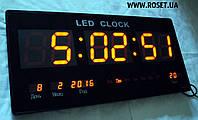 Настенные электронные часы LED Digital Clock JH 4622-4 RED