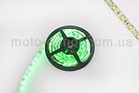 Лента светодиодная SMD 5050   (зеленая, влагостойкая, 60 крист/1м, бухта 5м)