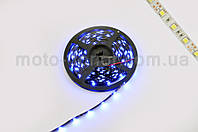 Лента светодиодная SMD 5050   (синяя, влагостойкая, 30 крист/1м, бухта 5м)