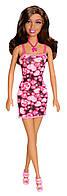 Кукла Барби Афро-американка в розовом