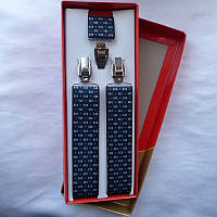 Подтяжки мужские 35мм купить оптом в Одессе недорого модные 7км, фото 1