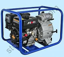 Мотопомпа  SENCI  SCWТ80(для гряз.воды д.80мм,45куб.м/год)