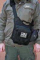 Плечевая оперативная сумка-кобура