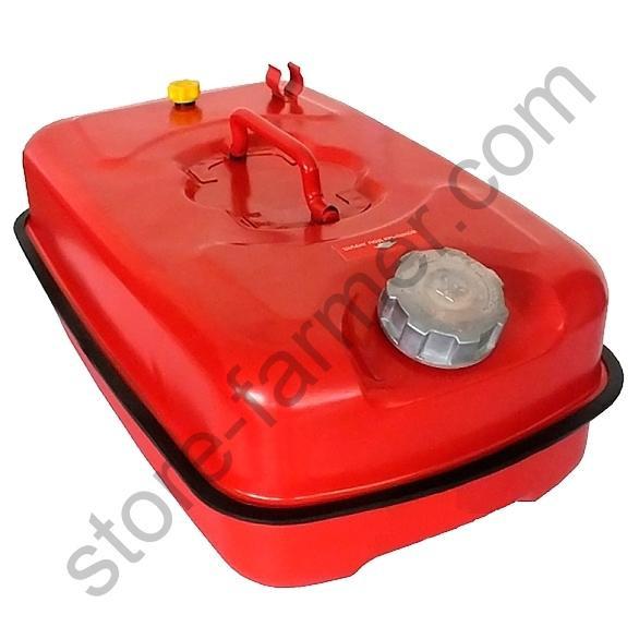 Канистра для ТСМ ( Топливно-Смазочных материалов) C-10R, горизонтальная, красная, 10 л