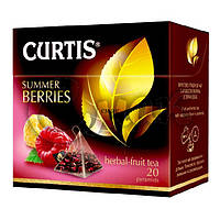 Чай Curtis Summer Berries (малина/шиповник), 1,7 Г*20 ПАК. В ПИРАМИДКАХ