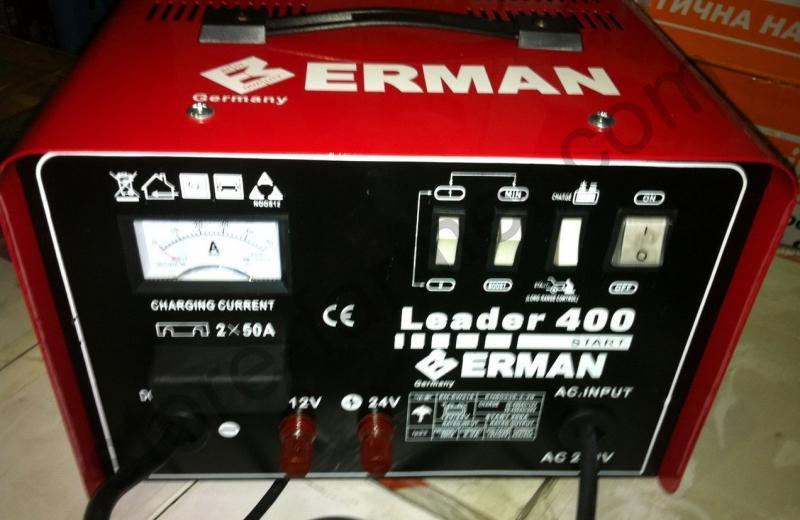Пуско-зарядное устройство ERMAN EM-EW215 (пуск 7,4кВт/220А)