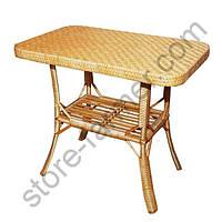Стол прямоугольный, арт. СЛ-1, ДСП, заплетен., 72х80х50