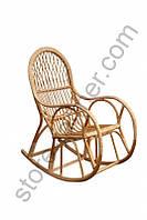 Кресло-качалка из лозы, КК-1, 110х60х115