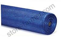 Сетка фасадная BUDOWA (5*5мм), 1х50м, 145 г/м2, синяя