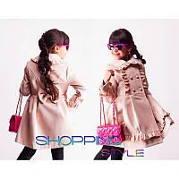 Красивое детское пальто для девочки весна осень