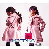 Весеннее пальто кашемировое для девочек