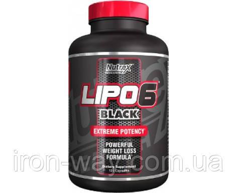 Nutrex Lipo-6 Black Extreme Potency 120 cap