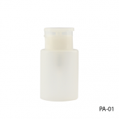 Бутылочка-помпа под ацетон 75 мл