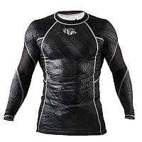 Рашгард Peresvit Immortal Silver Force Rashguard Long Sleeve Black Rain, фото 1