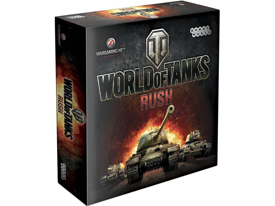 """Настольная карточная игра Hobby World  """"World of Tanks: Rush"""""""