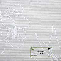 Рулонные шторы Одесса Ткань Орхидея Белый