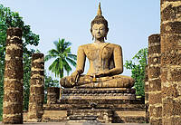 Фотообои с Буддой Шукхотай 366*254