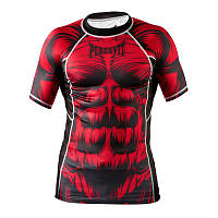 Рашгард Peresvit Beast Silver Force Rashguard Short Sleeve Red, фото 1