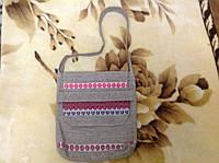 Этничечкая сумка с вышивкой