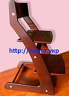 Детский  стул растущий, регулируемый TimOlK (тонированный), фото 1