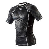 Рашгард Peresvit Immortal Silver Force Rashguard Short Sleeve Black Rain, фото 2
