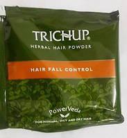 Маска травяная против выпадения волос с натуральной хной Тричуп, Herbal hair powder, Trichup, 30 гр., фото 1