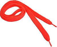 Шнурки широкие 20мм/120см, Ярко-розовый