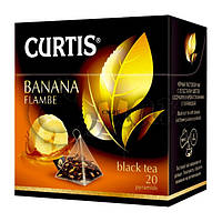 Чай Curtis Banana Flambe (банановый), 1,8 Г*20 ПАК. В ПИРАМИДКАХ