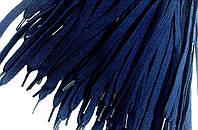 Шнурки для обуви (100см) плоские, темно-синие