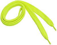Шнурки широкие 20мм/120см, Салатовый