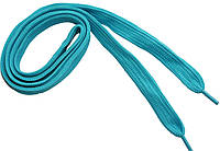 Шнурки широкие 20мм/120см, Бирюзовый