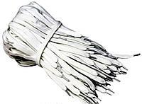 Шнурки для обуви (70см) плоские Белый