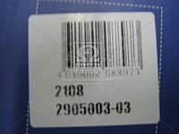 Амортизатор ВАЗ 2108-09 (стойка) левая маслянный (производитель Пекар) 2108-2905003-03