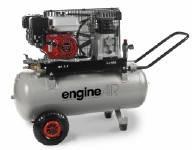 Abac Engineair 5/100 Petrol Бензиновый компрессор, 330 л/мин, 100 л, 4,8 л.с.