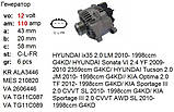 Шкив генератора HYUNDAI AZERA Grandeur ix35 i40 SantaFe Sonata TUCSON KIA Carens Magentis Optima Sorento Sport, фото 3