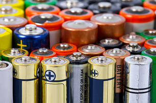 Батарейки щелочные (алколайн)